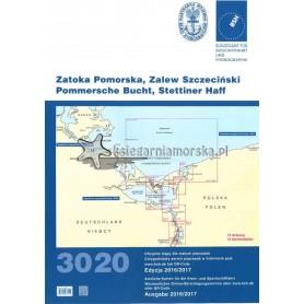 Atlas map 3020 Zatoka Pomorska i Zalew Szczeciński wyd. 2016