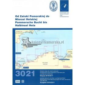 Atlas map 3021 Od Zatoki Pomorskiej do Mierzei Helskiej wyd. 2016