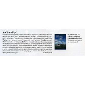 W styczniowym magazynie &quot,Żagle&quot, ukazała się recenzja książki