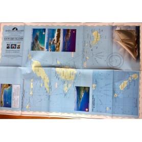 mapa - Northern Leeward Islands (Karaiby Wyspy Podwietrzne - część północna)