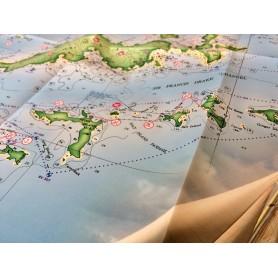 mapa Virgin Islands (Karaiby Wyspy Dziewicze)