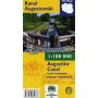 Kanał Augustowski - mapa turystyczna