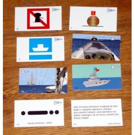 Karty do nauki dla żeglarzy i motorowodniaków śródlądowych