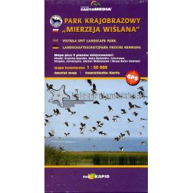 Mierzeja Wiślana - mapa turystyczna
