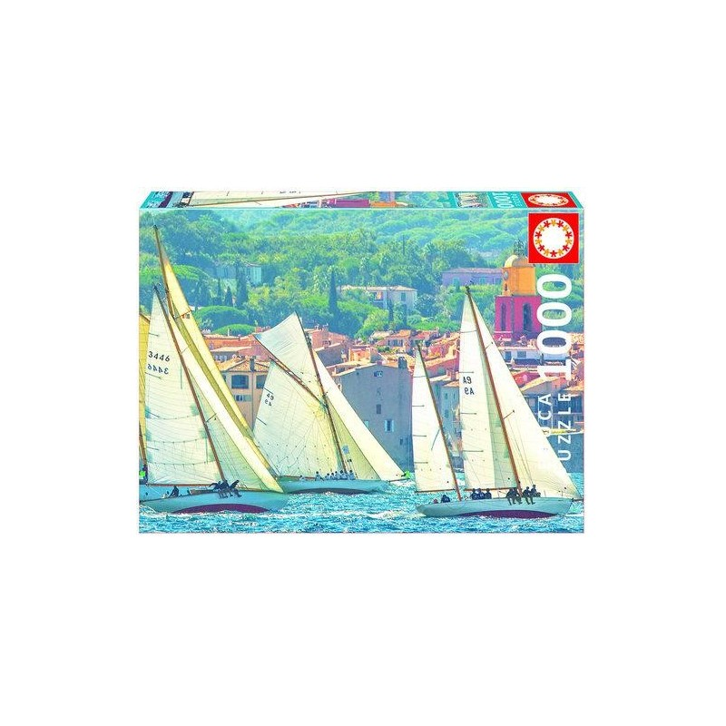 Żeglarstwo w Saint-Tropez 1000 - puzzle