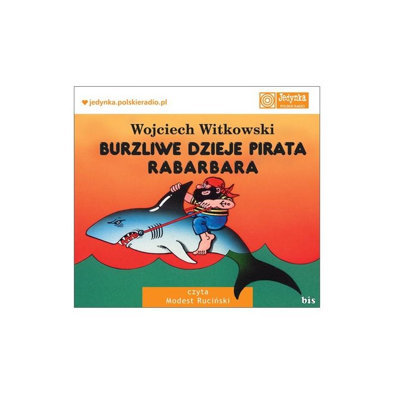 Burzliwe dzieje pirata Rabarbara - audiobook