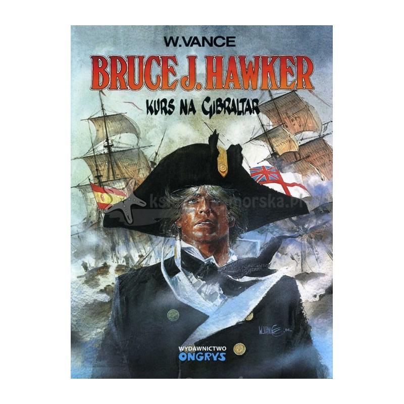 Bruce J. Hawker 1. Kurs na Gibraltar (komiks)