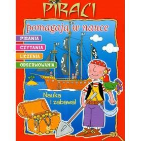 Piraci pomagają w nauce pisania, czytania, liczenia i obserwowania