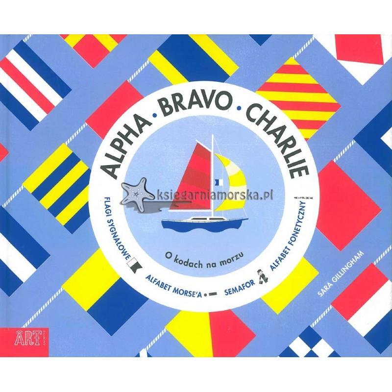 Alpha, Bravo, Charlie. O kodach na morzu - książka + zeszyt do kolorowania