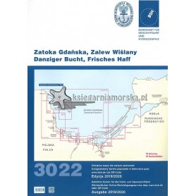 Atlas Map 3022 Zatoka Gdanska I Zalew Wislany Wyd 2019