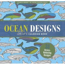 Kolorowanka artystyczna OCEAN