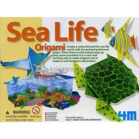 Origami - zwierzęta morskie. Zestaw kreatywny