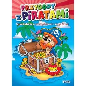 Przygody z piratami. Opowiadania z łamigłówkami i zagadkami.