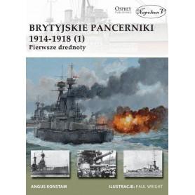 Brytyjskie pancerniki 1914-1918 (1) Pierwsze drednoty