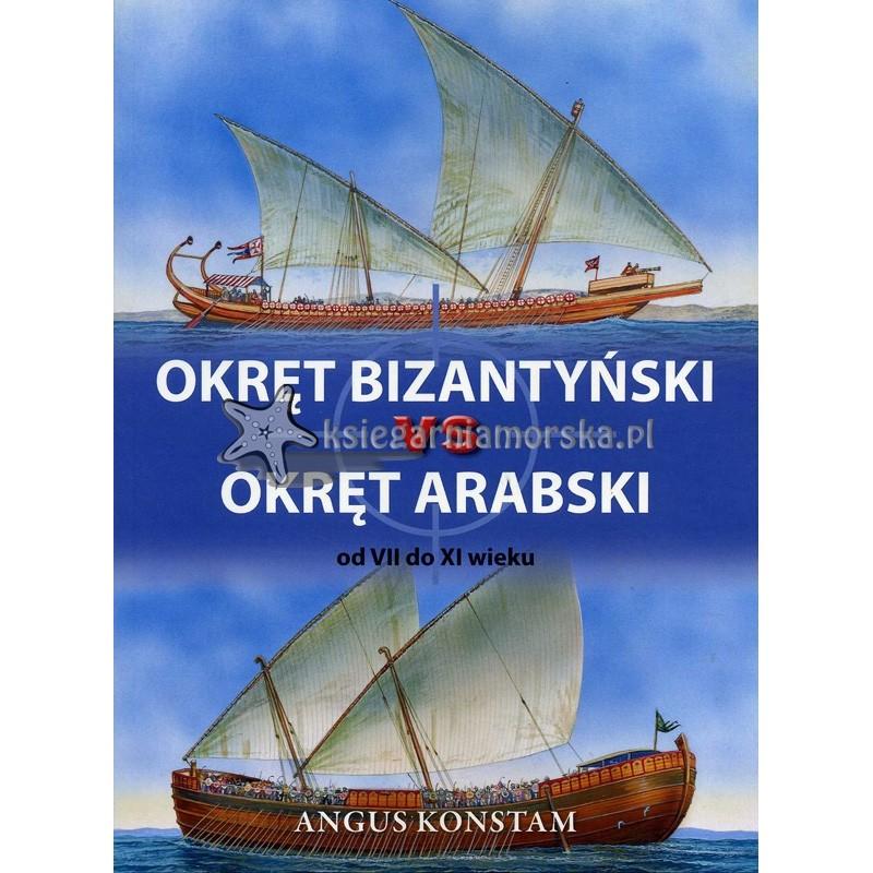 Okręt bizantyński vs okręt arabski od VII do IX wieku
