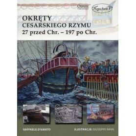 Okręty cesarskiego Rzymu 27 przed Chr. - 197 po Chrystusie